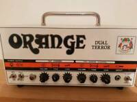 Orange Dual Terror Tube Amp - 30w with footswitch and carry case
