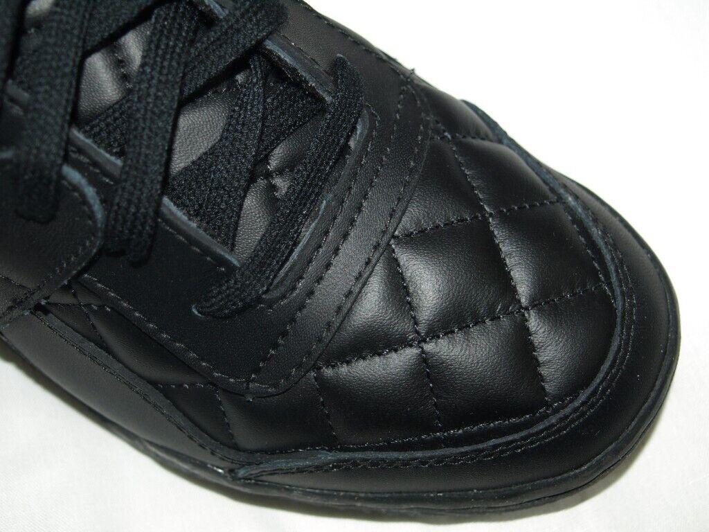 a589a7ccef9e Brand-New Tatty Box REEBOK WORKOUT LOW PLUS QUILTED BLACK WOMENS TRAINERS  CLASSIC
