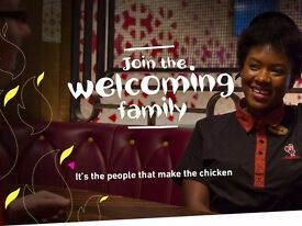 Nando's Stratford-Upon-Avon is recruiting! We are on the search for Hosts, Cashiers and Grillers