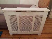 White victorian radiator cover