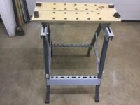 Fold up DIY workbench in very good condition hardly ever used