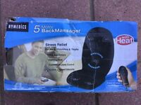 Homemedics back massager, BNIB, never been used