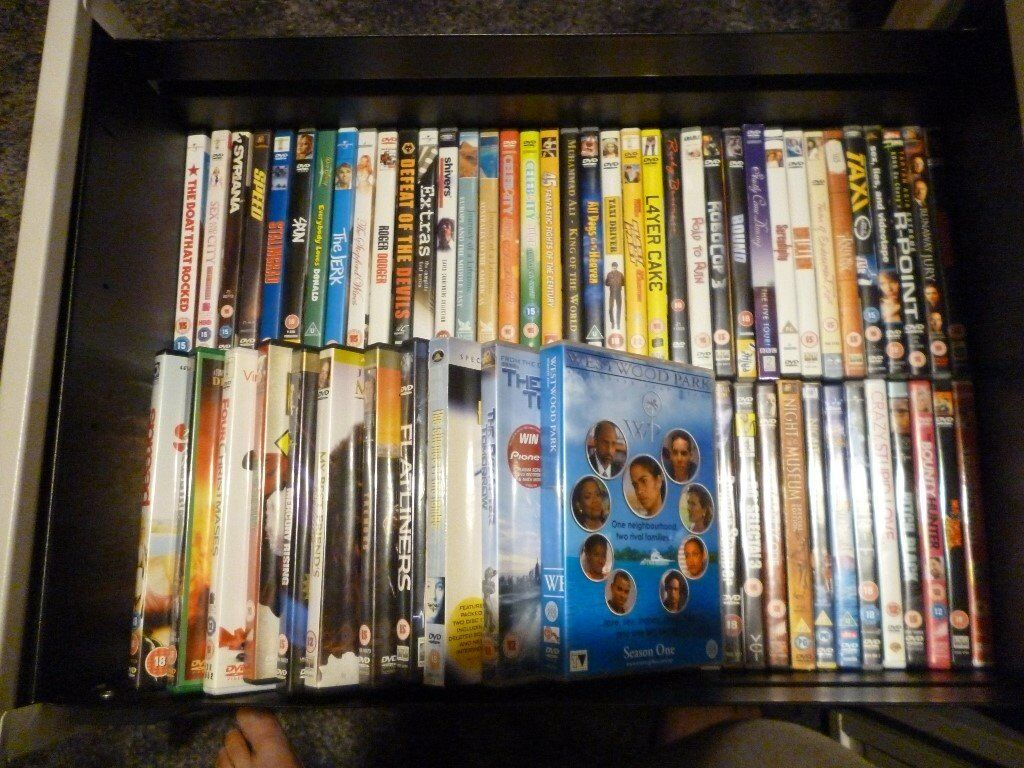Job Lot of 80 DVD's