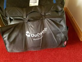 Outwell Montana 6P with foot print, insulated carpet and roof protector
