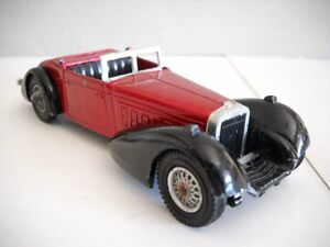 Hispano-Suiza-K6-Cabriolet-1938-Lesney-Matchbox-Yesteryear-Y-17-1973-1-43