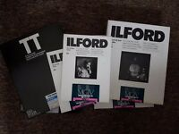 Ilford Black and White Darkroom Paper 5x boxes 10x8 and 5x7