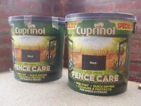 Cuprinol Fence Care.