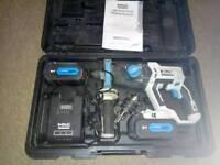 McAllister SDS battery hammer drill