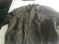 Mans suede/leather jacket