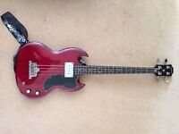 Epiphone EBG0CHCH1 EB-0 Electric Bass Guitar - PRISTINE!