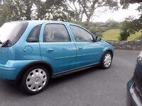 04 Vauxhall Corsa 1.2 Design **Only 70k Miles***MOT 25/June/2018***