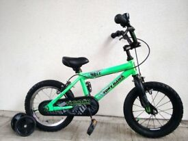 "FREE Bell with (2579) 14"" 9"" TONY HAWK BMX BOYS GIRLS BIKE BICYCLE + STABILISERS Age: 4-5, 98-112 cm"