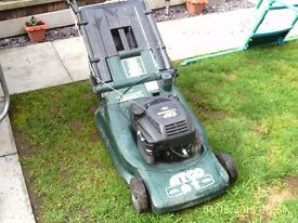 "Atco Quantum XTL 19"" Self Propelled Petrol Lawnmower"