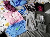 Girls aged 8-10 Nike & Adidas clothes