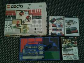 Vintage lego dacta technic set boxed complete