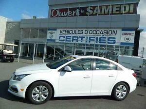 2016 Chevrolet Cruze TOIT OUVRANT + DÉMARREUR + CAMERA DE RECUL
