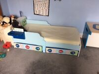 Gorgeous transport toddlers bed
