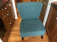 Turquoise Cocktail Chair