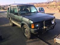 1991 Land Rover discovery 2.5 td 200tdi. Off roader 4x4 . Big tyres . Spares or repairs