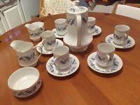 Vintage 17 piece Bone China Trend Royal Standard Coffee Set