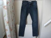 Mens Topman slim jeans 32/34