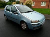 FIAT PUNTO 1.2 2003 5 DOOR 12 MONTHS MOT 78K MILES FULL SERVICE HISTORY IMMACULATE CONDITION