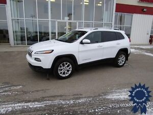 2015 Jeep Cherokee North 4WD w/Heated Seats & Strg Whl, B Up Cam