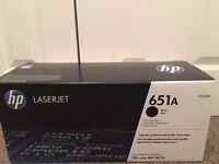 651A LASERJET HP Printer Cartridge (Black) CE340A