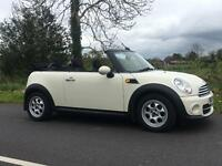 2012 MINI COOPER D CONVERTIBLE IMMACULATE