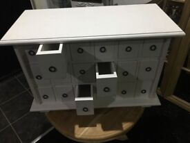 BRAND NEW Small White Unit of Drawers