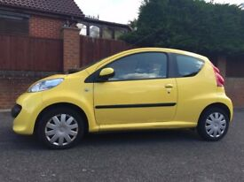 Lovely Low Mileage Peugeot 107