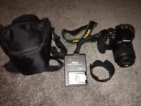 Nikon D3300 DSLR Camera with 18-55mm VR II Lens Kit and accessories
