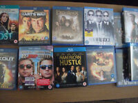 19 BRAND NEW BLU RAYS....STILL ALL WRAPPED......BOOTSALE BARGAIN!