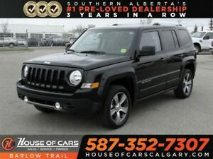 2016 Jeep Patriot High Altitude / Heated leather seats
