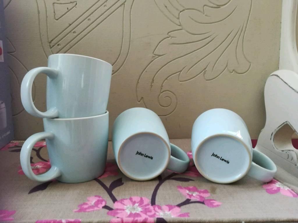 John lewis mugs | in Glenfield, Leicestershire | Gumtree