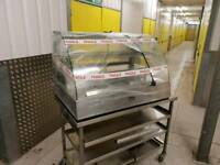 Commercial catering lincat display fridge table top