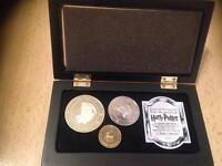 Noble collection Harry Potter coins