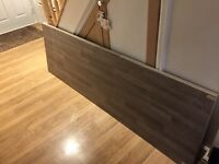 Howdens laminate 'grey oak block effect' worktop - brand new
