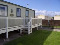 Towyn North wales 6 Birth caravan to let