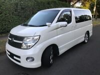 07 Nissan Elgrand Facelift 2490cc Petrol Highway Star ME51 Black leather Version 8 seater Automatic