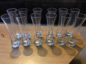 12 bud vases