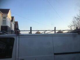 clivrowe full roof rack from flat roof smiley transit van needs bolts