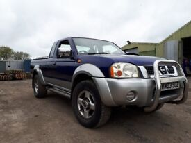 Nissan navara king cab 2 or 4 seater 03
