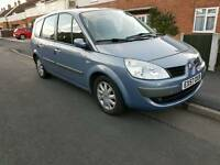 Renault scenic dynamique 7seater swop/px