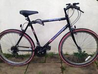 Mountain Bike With Lock