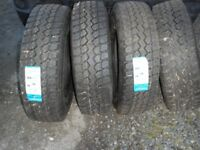 triangle truck tyres 235/R75/17.5 brand new x 4 fit 7500gvw
