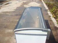 Commercial Chest Freezer Novum Glass Top