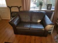 3 + 2 seater sofa Brown