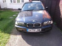 Bmw E46 headlights removed from a 2000 318i saloon