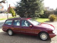 Good looking Ford Sierra which catches the eye.